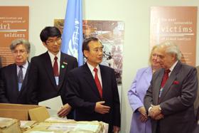 核なき世界へ  NPT準備委・訪米報告 中