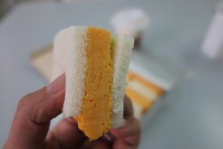 玉子サンドアップ