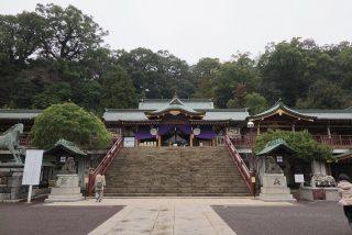 長崎・諏訪神社の拝殿