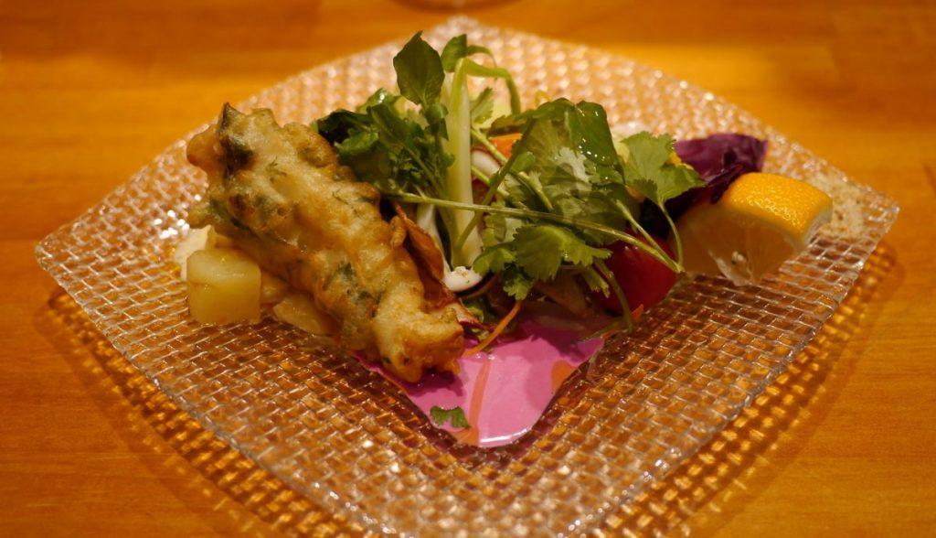 BaBaRランチセットの前菜