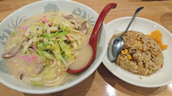 中華大八 ちゃんぽん+ミニ焼めし