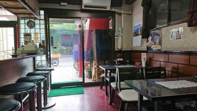 梁川飯店 店内雰囲気