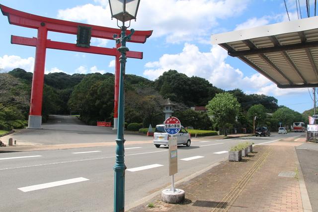 長崎バスの生長の家前