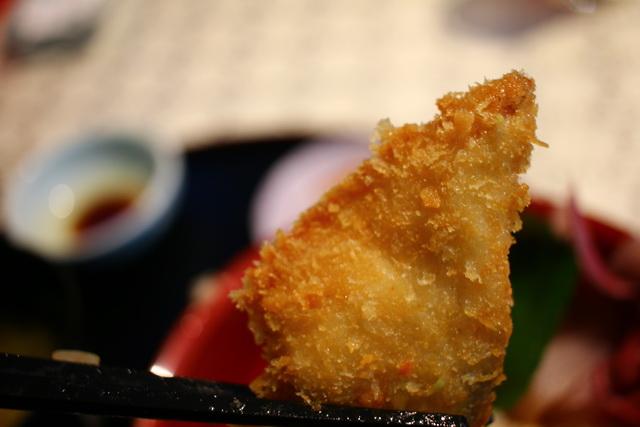 おくうら海鮮丼 魚フライ