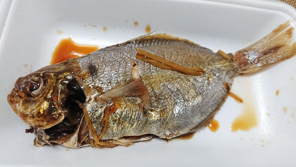 もち魚の煮付(税込み220円)