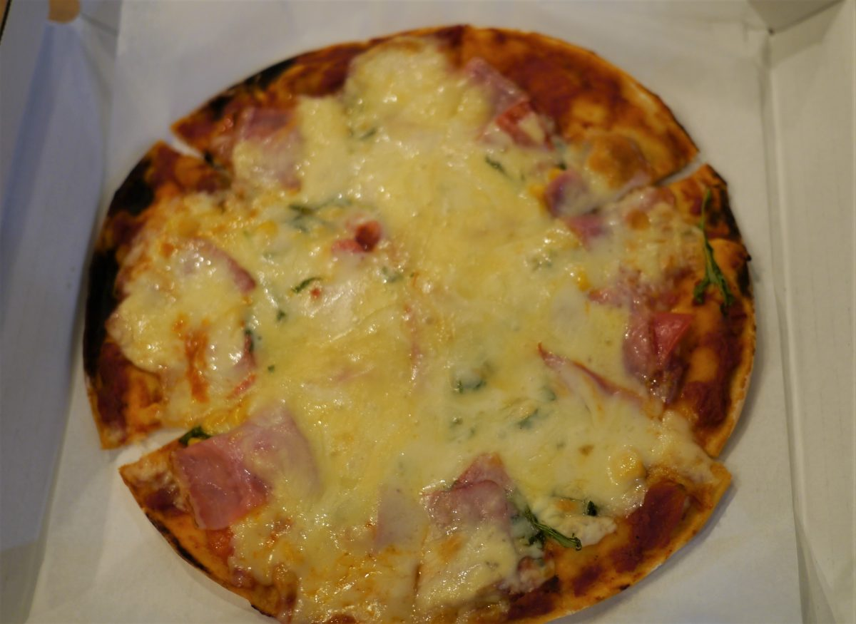 気まぐれピザ(900円)