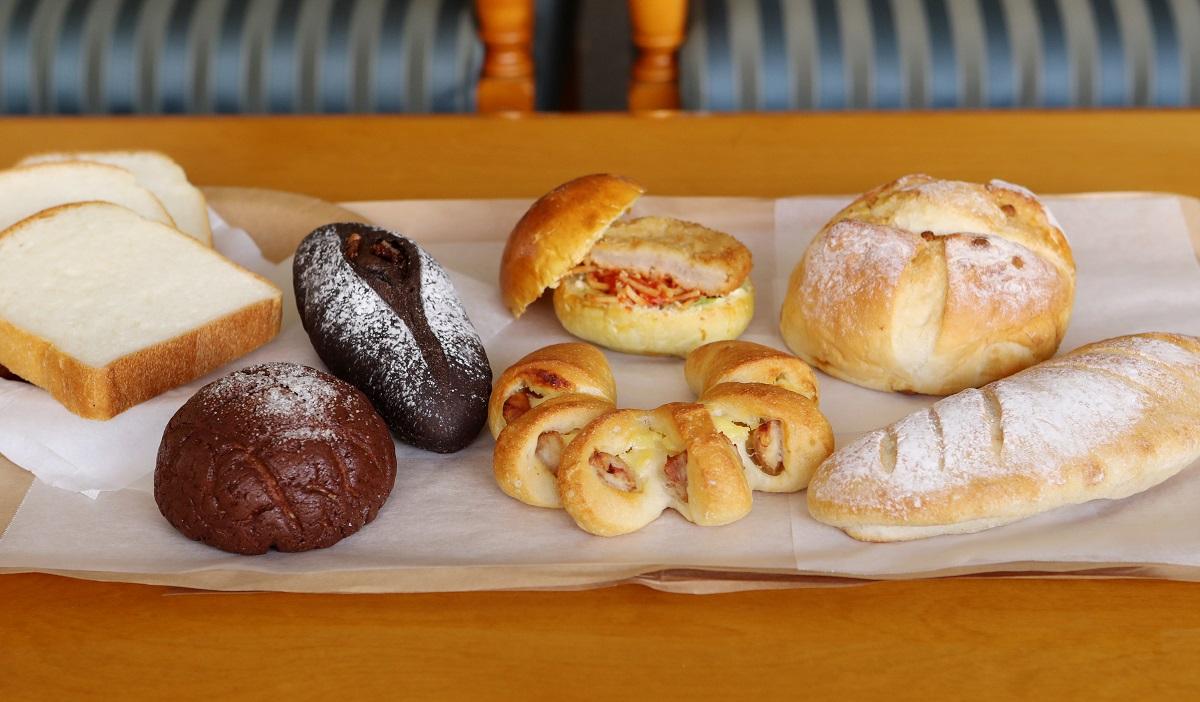 定番のパンはもちろん珍しい創作パンや調理パンもチェックしたい