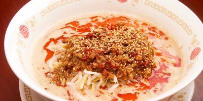 赤の担々麺 720円