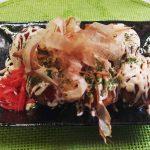 明太マヨたこ焼き(500円)