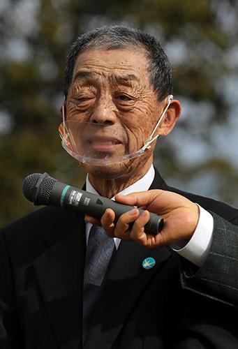 田中安次郎さん