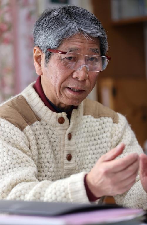 「ICJの勧告的意見は次なる取り組みを明確にした」と話す永田さん